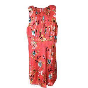 Liz Claiborne Multi Color Floral Print Shift Dress